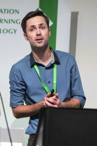 Photo of Chris Melia, senior learning technologist at UCLan